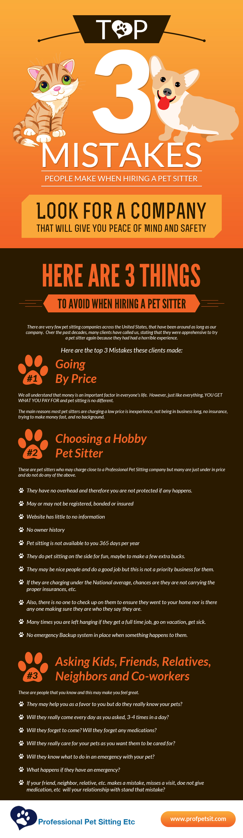info graphic 3 mistakes professional pet sitting etc blog