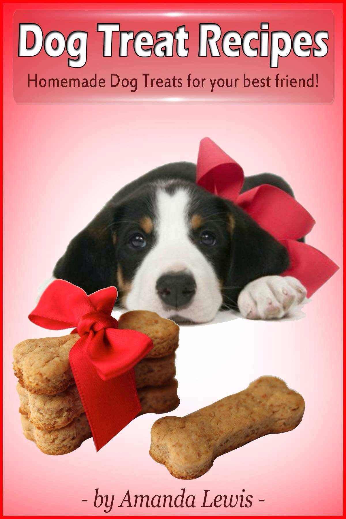 Dog Treat Recipes by Amanda Lewis brought to you by Professional Pet Sitting Etc.