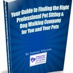 Pet sitting dog walking book cover 2
